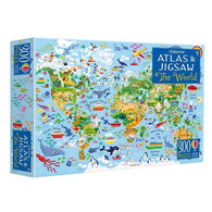 The World Atlas and Jigsaw-BuyBookBook