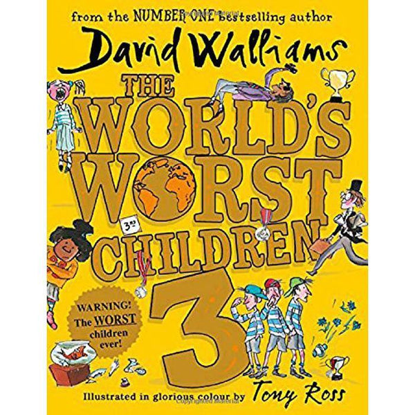 The World's Worst Children 3 (Hardback)-BuyBookBook