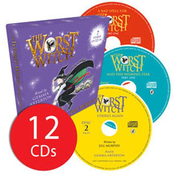 The Worst Witch Audio Collection (12 CD)-BuyBookBook