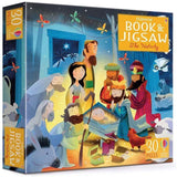 Usborne The nativity Book and Jigsaw (30 pcs)-BuyBookBook