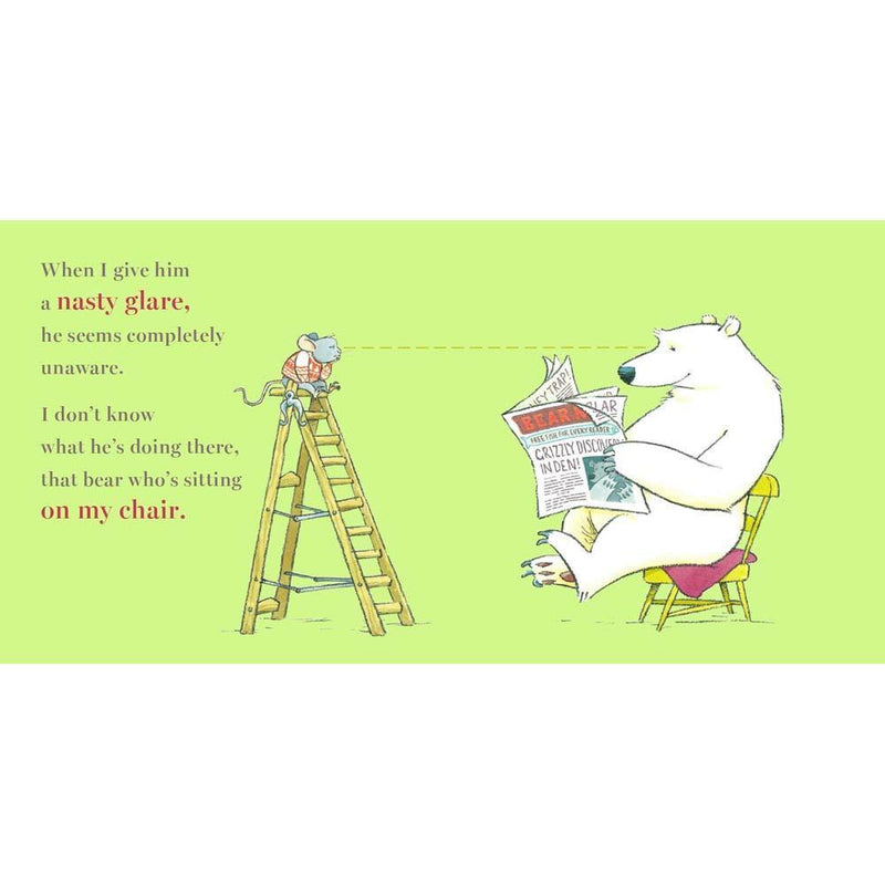 There's a Bear on My Chair (Paperback with QR Code)-BuyBookBook