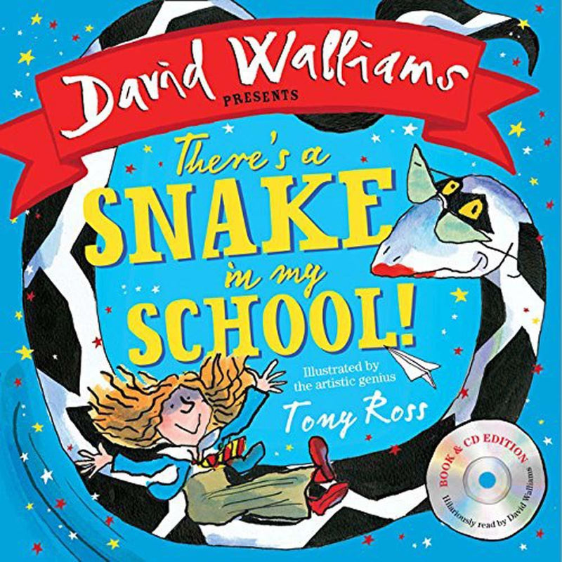 There's a Snake in My School! (Book with CD) (David Walliams)-BuyBookBook