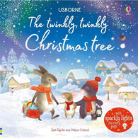 The twinkly twinkly Christmas tree (with Sparkly Lights)-BuyBookBook