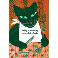 Today Is Monday (Board book) (Eric Carle)-BuyBookBook