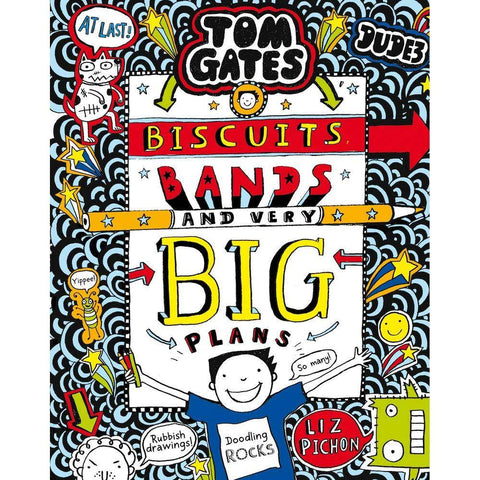 Tom Gates #14 Biscuits, Bands and Very Big Plans-BuyBookBook