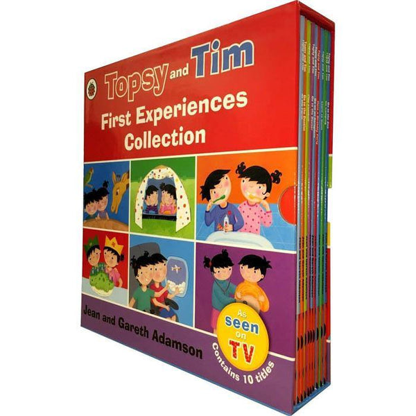 Topsy and Tim First Experiences Collection (10 Book)-BuyBookBook