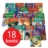 Treetops Myths and Legends Collection Lv 10 - 15 (18 Books)-BuyBookBook