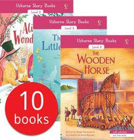 Usborne Story Books Developing Readers Collections (10 Books with Audio QR Code)-BuyBookBook