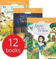 Usborne Story Books Beginner Readers Collection (12 Books with Audio QR Code)-BuyBookBook