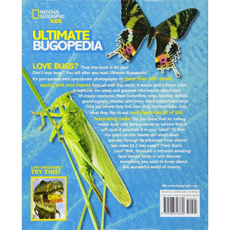 Ultimate Bugopedia (Hardback)-BuyBookBook