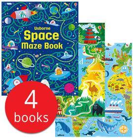 Ultimate Mazes Collection (4 Books)-BuyBookBook