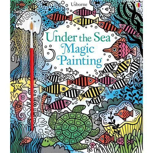 Usborne Under The Sea Magic Painting-BuyBookBook