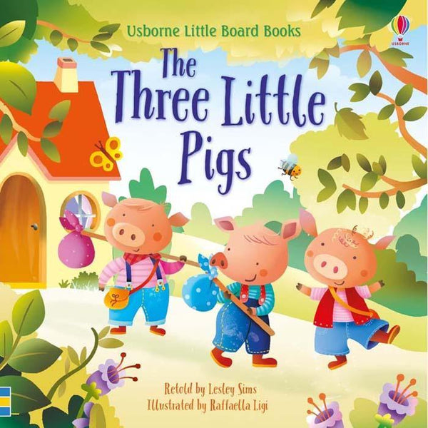 Usborne Little Board Books - The Three Little Pigs-BuyBookBook
