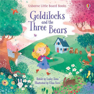 Usborne Little Board Books - Goldilocks and the Three Bears-BuyBookBook