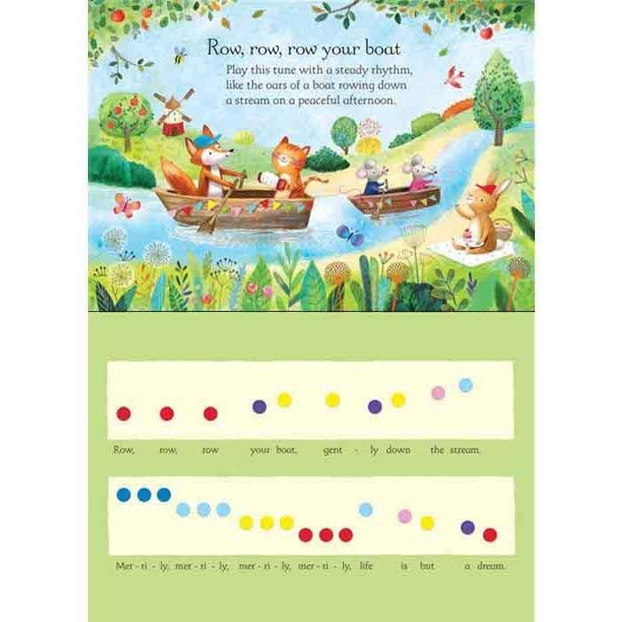 Usborne Nursery rhymes keyboard book-BuyBookBook