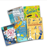 Usborne STEAM Bundle for Developing Readers (New) (5 Books)-BuyBookBook