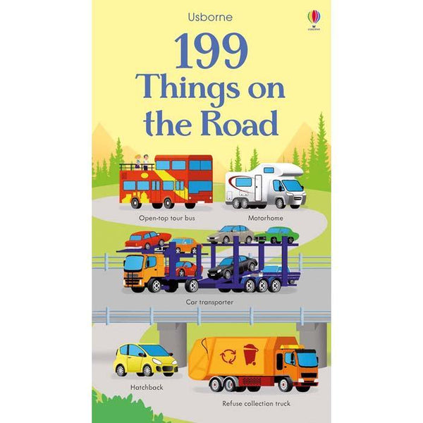 Usborne 199 things on the road-BuyBookBook