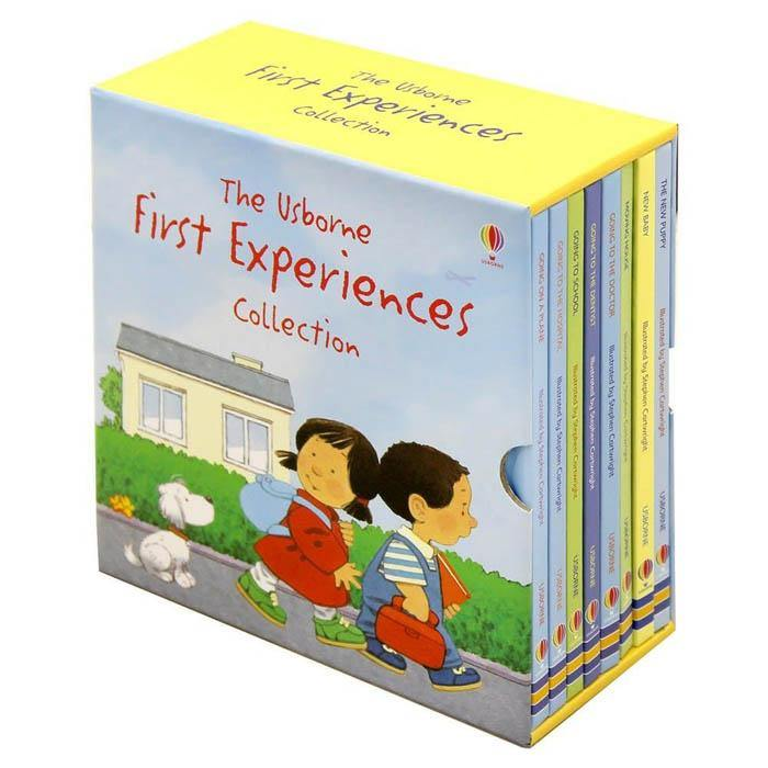 Usborne First Experiences Collection (8 Books)-BuyBookBook
