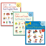 Usborne Listen and Learn Bundle (3 Book)-BuyBookBook
