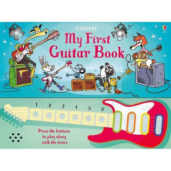 Usborne My First Guitar Book-BuyBookBook