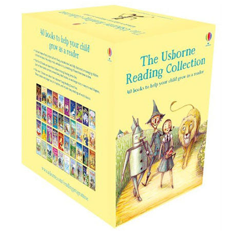 The Usborne Reading Collection (Stage 3) (40 Books)-BuyBookBook