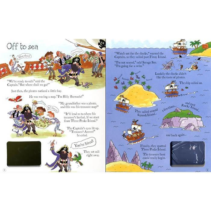 Usborne Wind-Up Pirate Ship-BuyBookBook