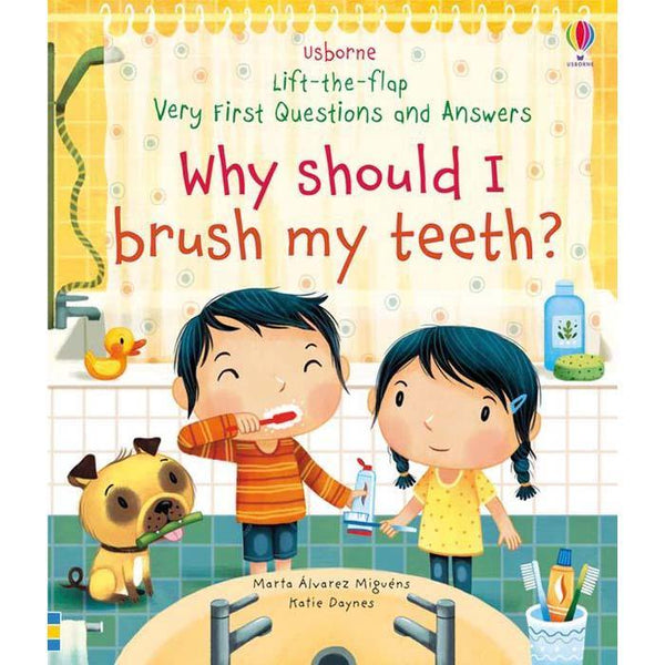 Very First Questions and Answers Why Should I Brush My Teeth?-BuyBookBook