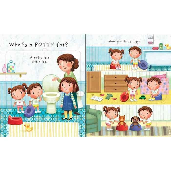 Very First Questions and Answers Why do we need a Potty?-BuyBookBook