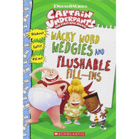 Wacky Word Wedgies and Flushable Fill-ins (Captain Underpants Movie)-BuyBookBook