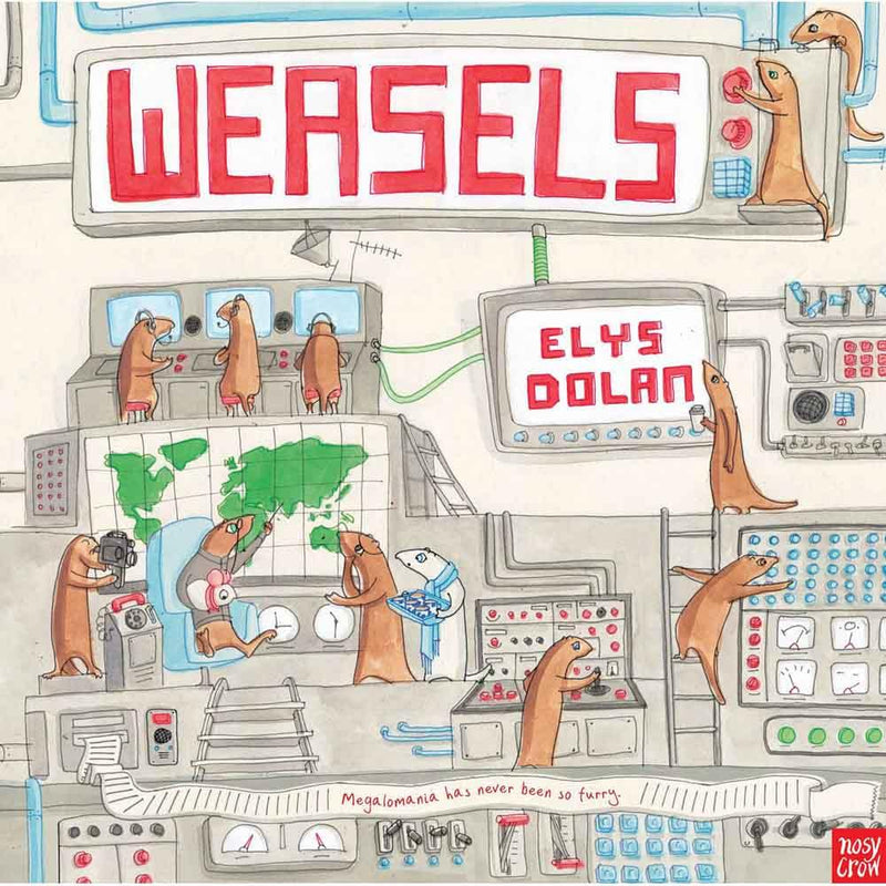Weasels (Paperback with QR Code)-BuyBookBook