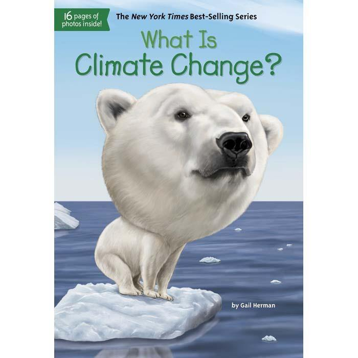 WHAT IS CLIMATE CHANGE? (Who | What | Where Series)-BuyBookBook