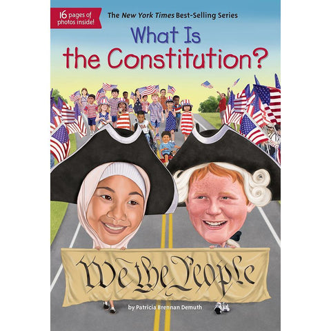 What Is the Constitution? (Who | What | Where Series)-BuyBookBook