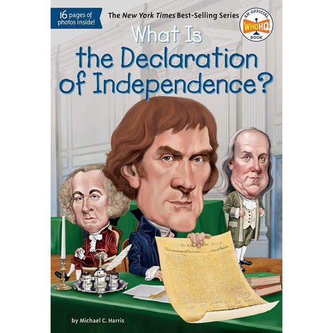 What Is the Declaration of Independence? (Who | What | Where Series)-BuyBookBook