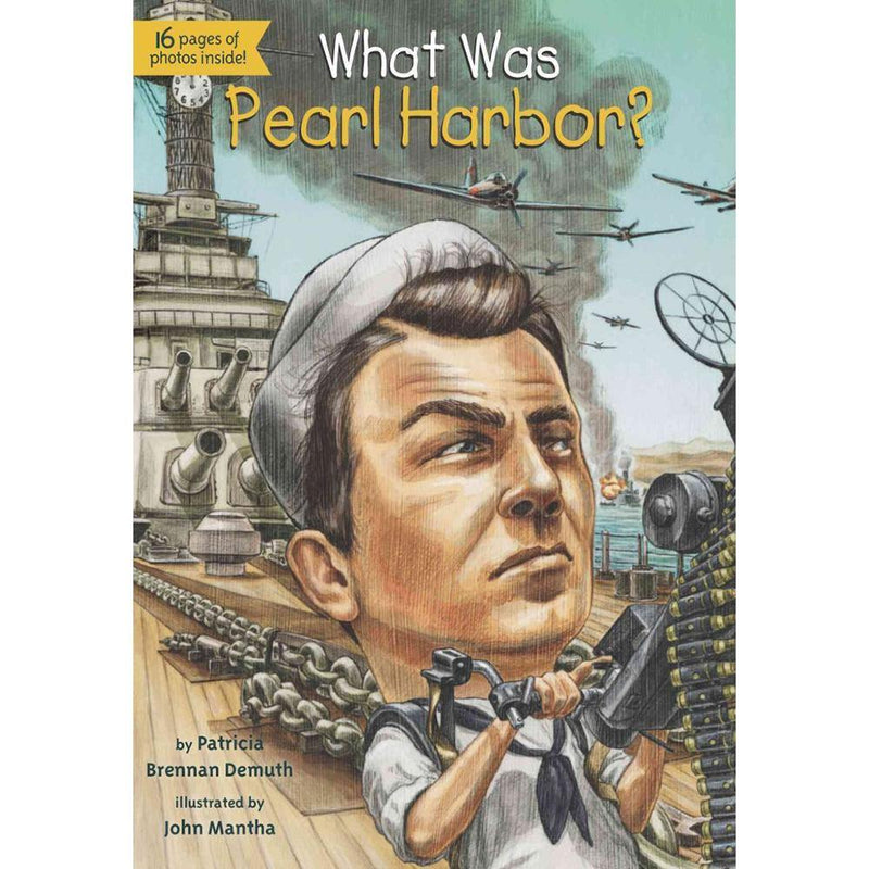 What Was Pearl Harbor? (Who | What | Where Series)-BuyBookBook