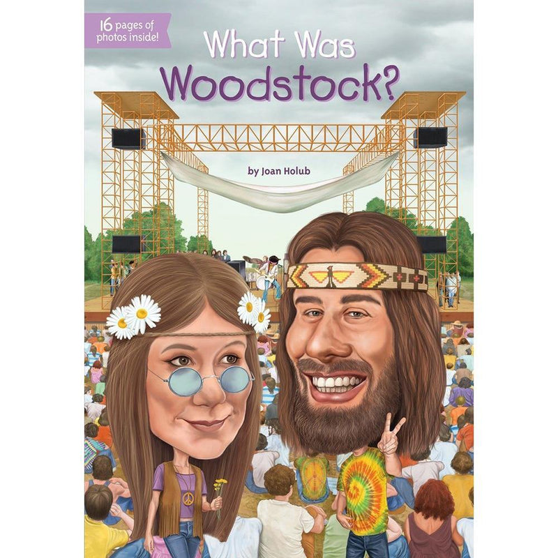 What Was Woodstock? (Who | What | Where Series)-BuyBookBook