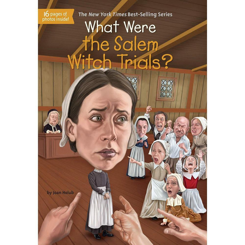 What Were the Salem Witch Trials? (Who | What | Where Series)-BuyBookBook