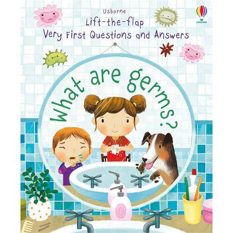 Very First Questions and Answers What are germs?-BuyBookBook