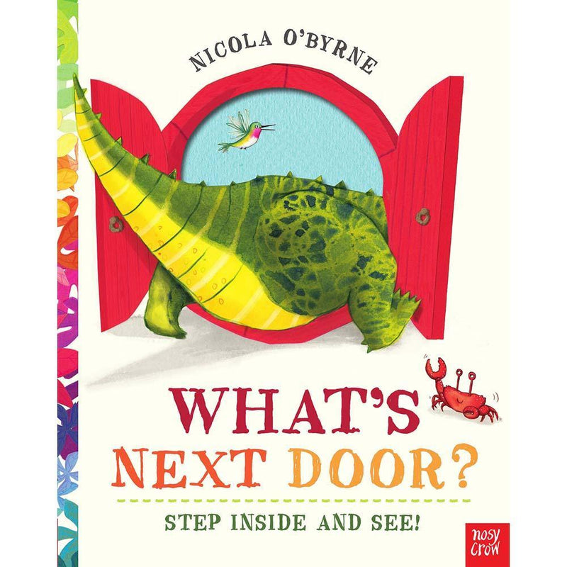 What's Next Door? (Paperback with QR Code)-BuyBookBook