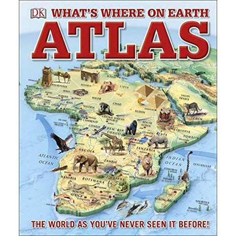 What's Where on Earth? Atlas-BuyBookBook