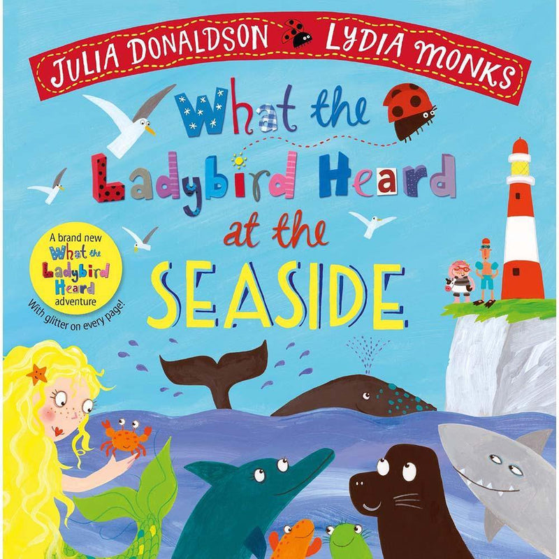 What the Ladybird Heard at the Seaside (Hardback) (J. Donaldson)-BuyBookBook