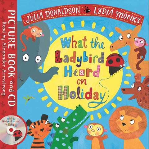 What the Ladybird Heard on Holiday (Book + CD) (J. Donaldson)-BuyBookBook
