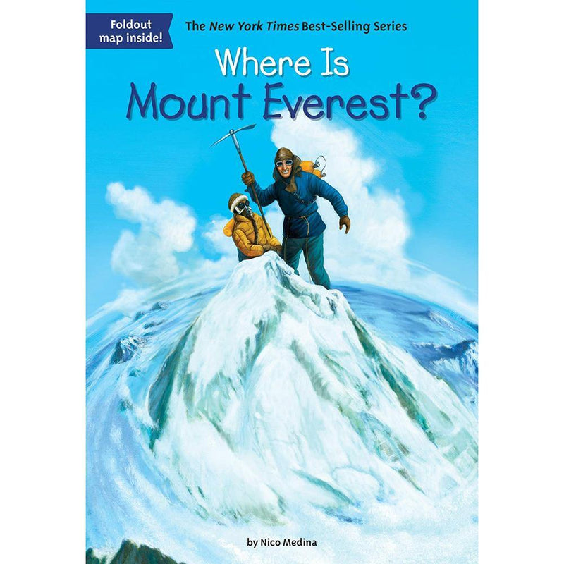 Where Is Mount Everest? (Who | What | Where Series)-BuyBookBook