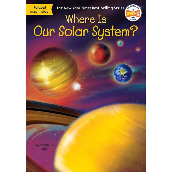 Where Is Our Solar System? (Who | What | Where Series)-BuyBookBook