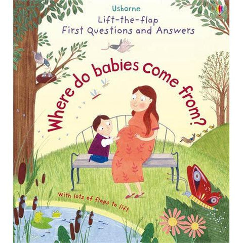First Questions and Answers Where do babies come from?-BuyBookBook