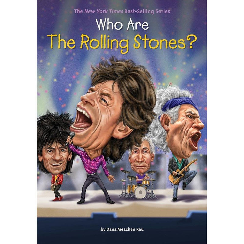 Who Are the Rolling Stones? (Who | What | Where Series)-BuyBookBook