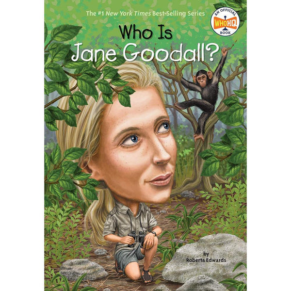 Who Is Jane Goodall? (Who | What | Where Series)-BuyBookBook