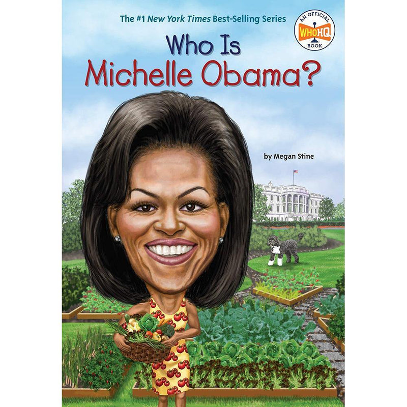 Who Is Michelle Obama? (Who | What | Where Series)-BuyBookBook