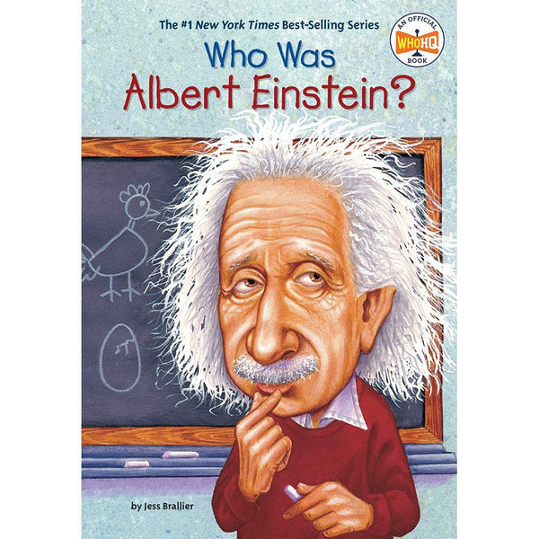Who Was Albert Einstein? (Who | What | Where Series)-BuyBookBook