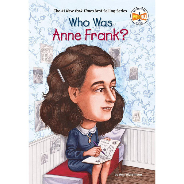 Who Was Anne Frank? (Who | What | Where Series)-BuyBookBook
