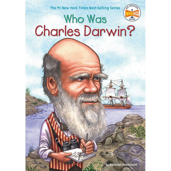Who Was Charles Darwin? (Who | What | Where Series)-BuyBookBook